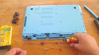 How to disassemble Any HP Pavilion 15 P series notebook