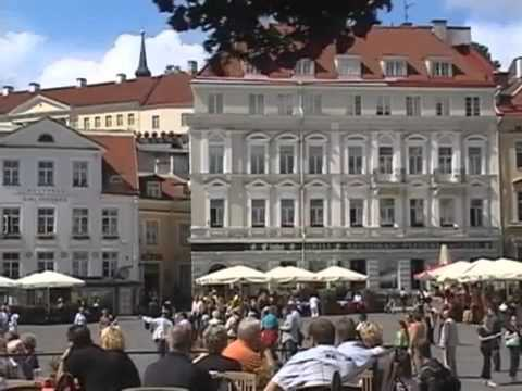Travel Guide to Tallinn, Estonia - YouTube.flv