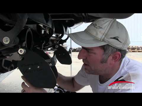Twin Engine Thrust Vector Install Video Chaparral Scarab Glastron SeaDoo