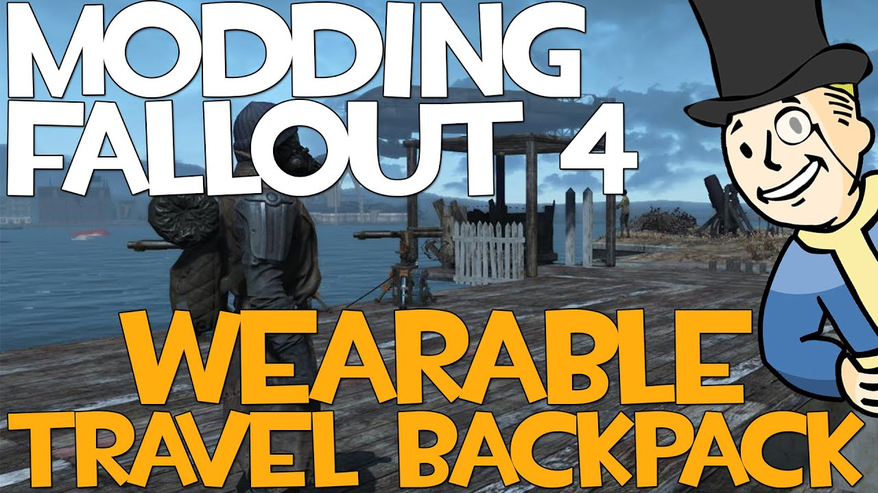 Wearable Backpacks and Pouches at Fallout 4 Nexus - Mods and
