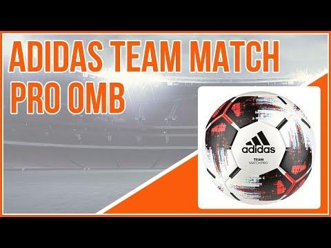 9d4b71175793f der günstige adidas Team Match Pro OMB Spielball - YouTube