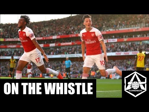 "On the Whistle: Arsenal 2-0 Watford - ""Emery may have to choose between Auba and Laca..."""