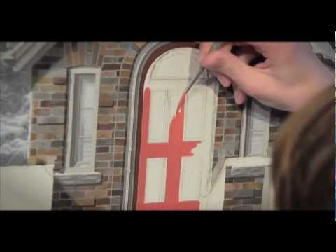 "Teenage Artist Josh Tiessen - ""Flurry Home"" Painting Time Lapse"