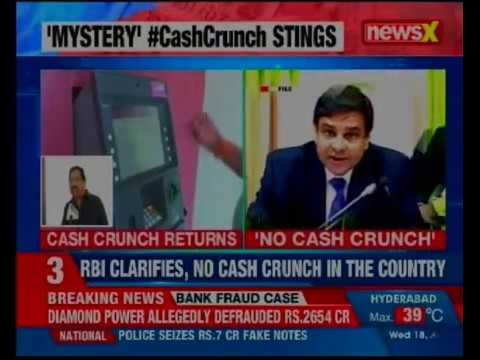 ATMs run dry in Bihar, MP, UP, Gujarat; RBI clarifies, no cash crunch in the country