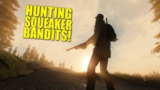 HUNTING SQUEAKER BANDITS! - MISCREATED -Ep.27
