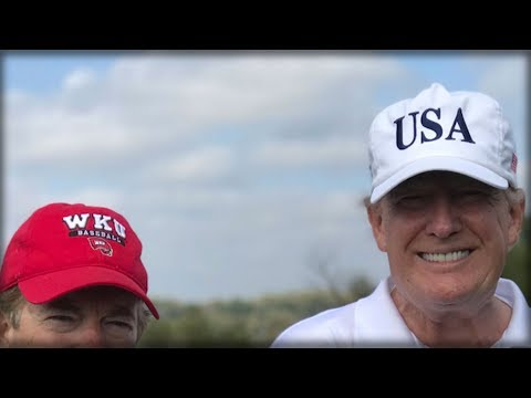 TRUMP JUST SPOTTED ON GOLF COURSE WITH SOMEONE THAT HAS REPORTERS EVERYWHERE FREAKING OUT