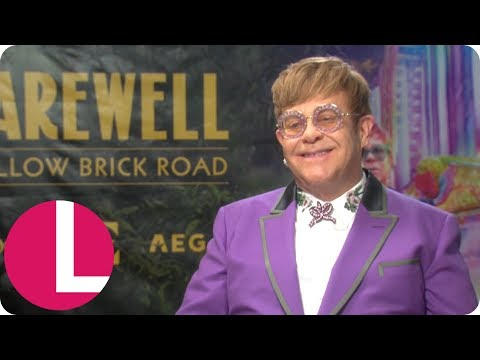 Sir Elton John Is Ready to Retire From Touring but He's Going Out With a Bang! | Lorraine