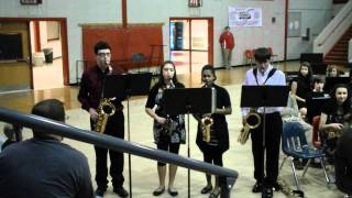 The Muppet Show Theme played by Saxophone Quartet