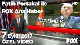 Akın Öztürk'ün damadı her şeyi reddetti...7 Eylül 2017 Fatih Portakal ile FOX Ana Haber