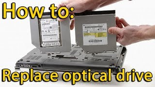 Asus X555 dvd drive replacement | Install Second Hard Drive