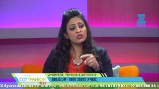 ZEE TV - ZEE Companion | Dr. Anil K. Mehta on Thyroid issues (Hypothyroidism and Hyperthyroidism) thumbnail