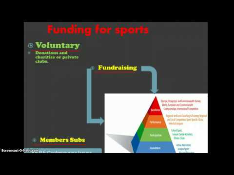 Structure and funding of Sports in the UK