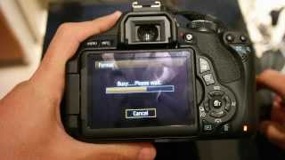 CANON 600D video record