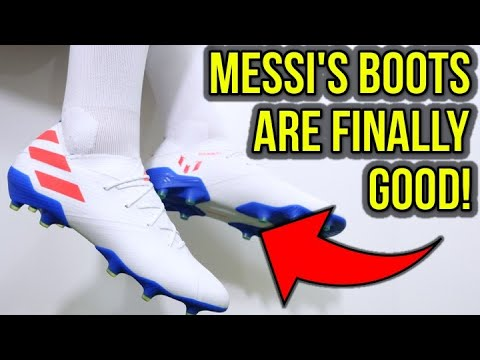 MESSI'S NEW BOOTS ARE SICK! - Adidas Nemeziz 19.1 Messi (302 Redirect) - Review + On Feet