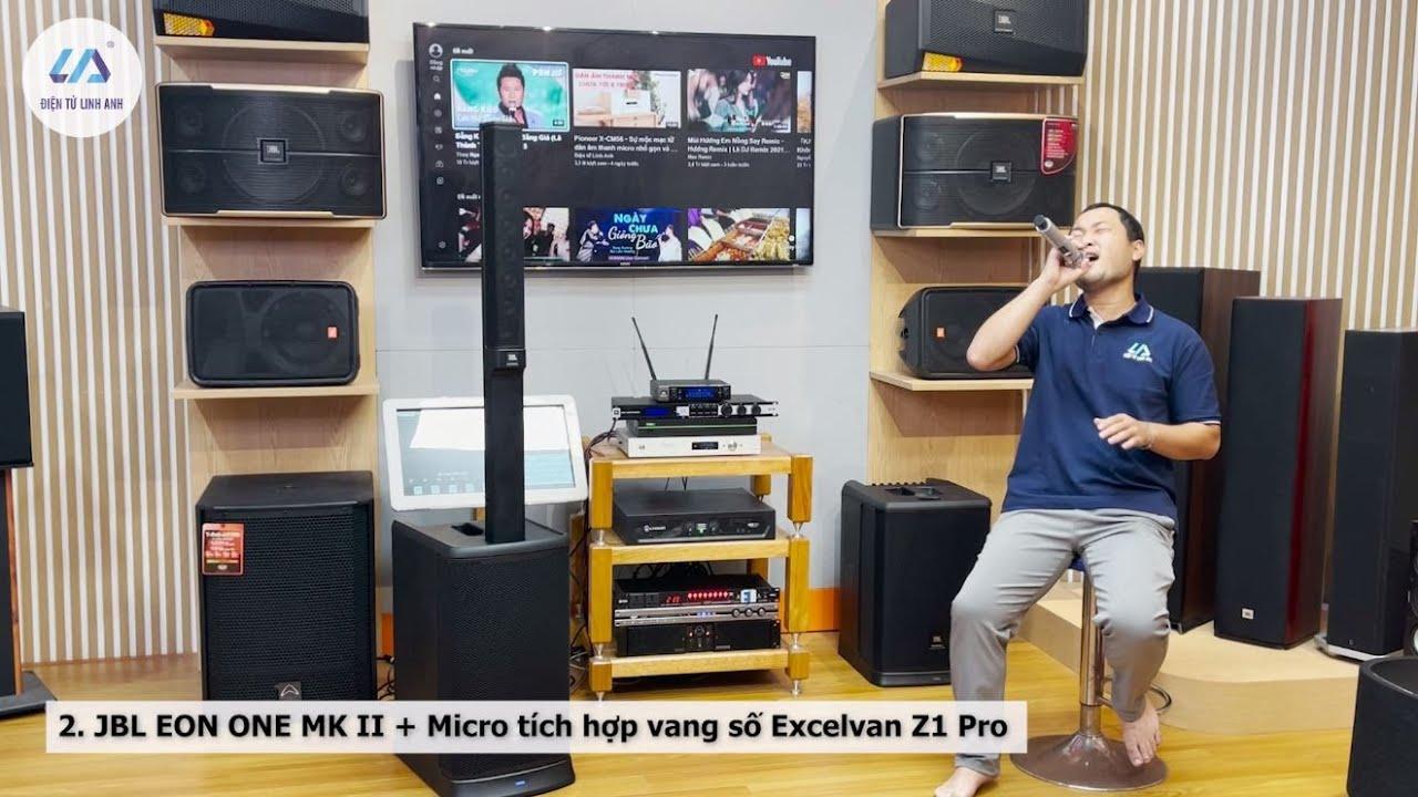 Tất tần tật về loa JBL EON ONE MK II - Loa hát Karaoke, loa hội thảo và giảng dạy chuyên dụng