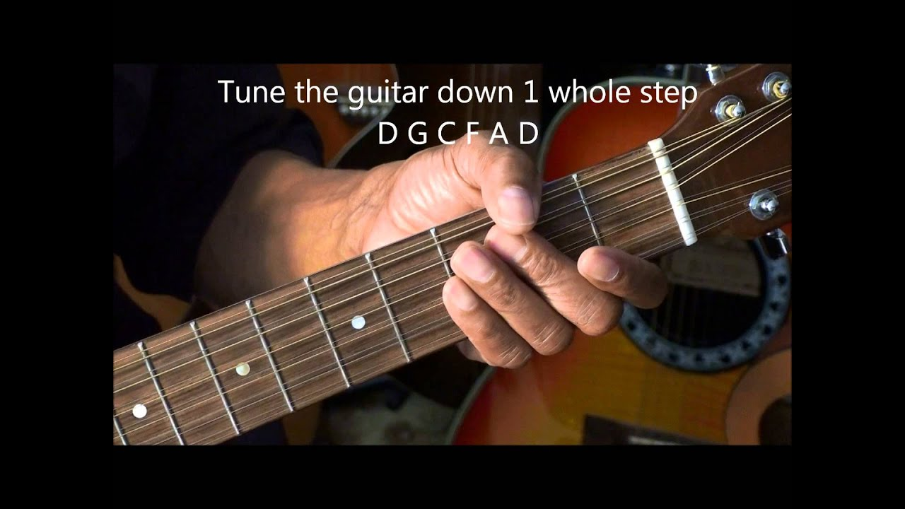 A Way To Make Your 12 String Guitar Easier Play Lesson EricBlackmonMusicHD