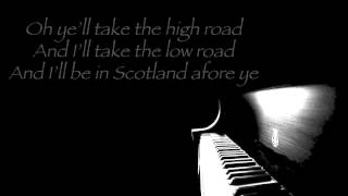 Loch Lomond piano solo