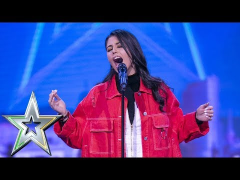 Dublin Singer Alana Fox belts out Lady Gaga hit  Ireland&39;s Got Talent 2019