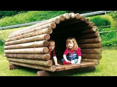 Таким может быть двор частного дома