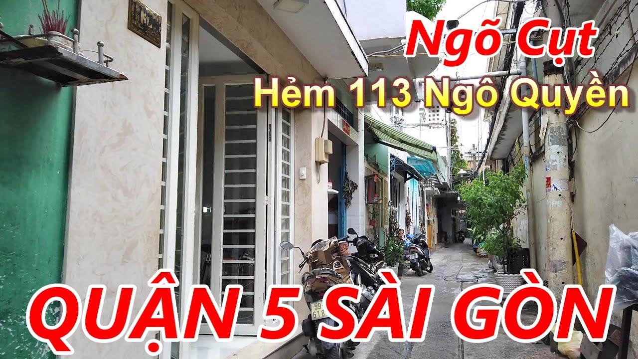 Hẻm 113 Ngô Quyền (Triệu Đà) Quận 5 Sài Gòn (Trời Sắp Mưa)