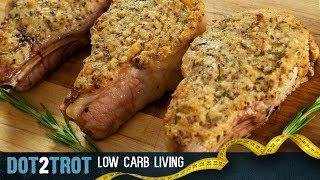Pork Chops | Horseradish & Mustard Crusted