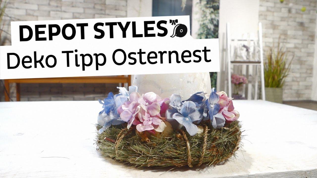 Depot Styles Kleines Osternest Basteln Für Die Perfekte Osterdeko