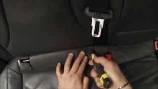 Installazione Attacchi Isofix Posteriori Audi A4 B8 8K