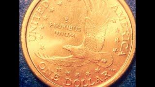 2000 P Cheerios Sacagawea Gold Dollar (Most Popular Dollar Of 2018)