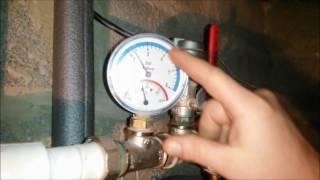 Высокое давление в системе отопления