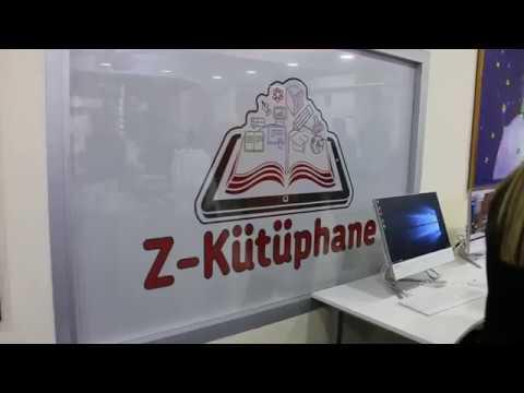 Z Kütüphane Açıldı