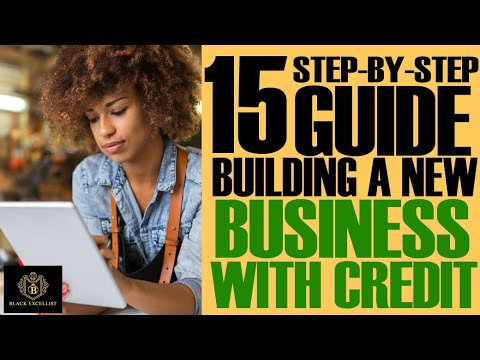 BUILDING A NEW BUSINESS with BUSINESS CREDIT w/Divvy ?No SSN ?No PG  (15-Step Guide)