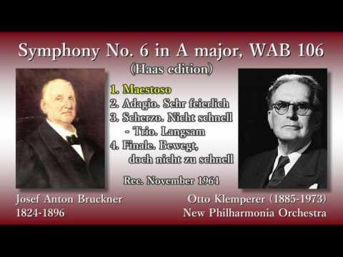 Bruckner: Symphony No. 6, Klemperer & The Phil (1964) ブルックナー 交響曲第6番 クレンペラー