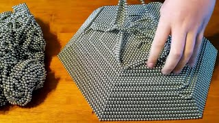 REVERSE Zen Magnet Pyramid 50,000 Buckyballs Magnetic Balls Neodymium Magnets Oddly Satisfying