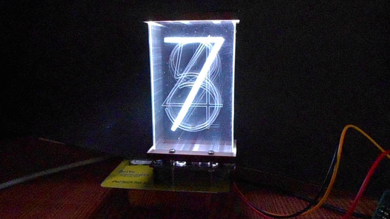 LED-based Nixie tube-esque displays at ESC Minneapolis 2017 | Embedded
