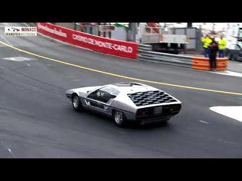 2018 Monaco Historic GP Lamboghini Marzal