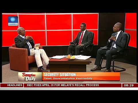 Security Situation: Forget Blame Game,Face Reality, Nya Etok Advises Pt.1 |Sunrise Daily|