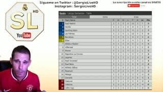 RESULTADOS Y CLASIFICACIÓN | LA LIGA SANTANDER JORNADA 3 | SergioLiveHD