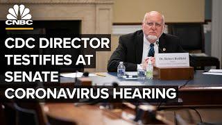CDC director and key health officials testify at Senate coronavirus hearing — 7/2/2020