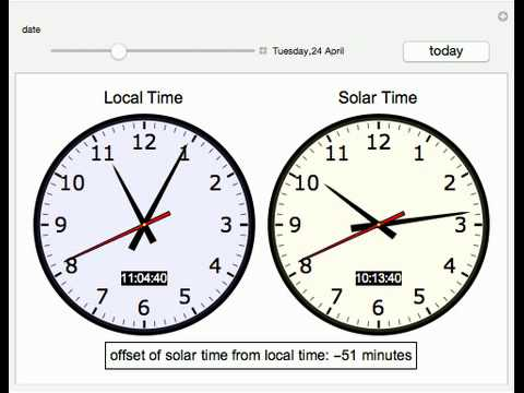 Solar Time Calculator