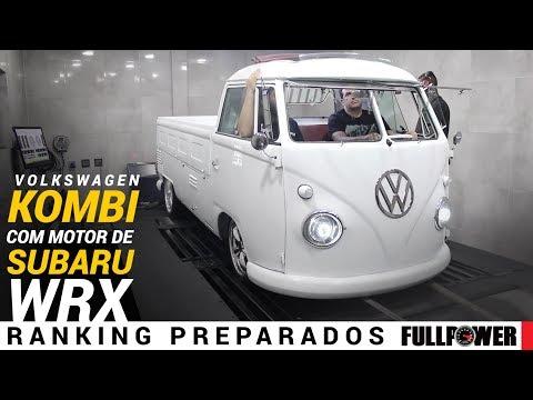 VW Kombi 1974 custom no visual e motorzão de Subaru WRX