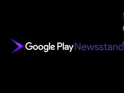 Google Play Newsstand logo