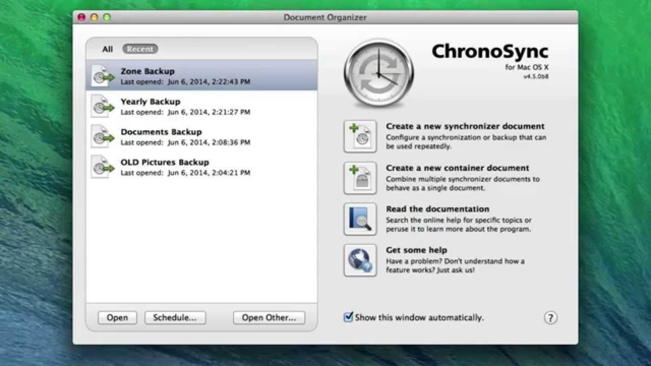 chronosync express review