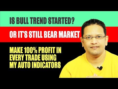 Is BULL Trend Started or its Still BEAR Market. 100% Profit using Best Charting Indicators