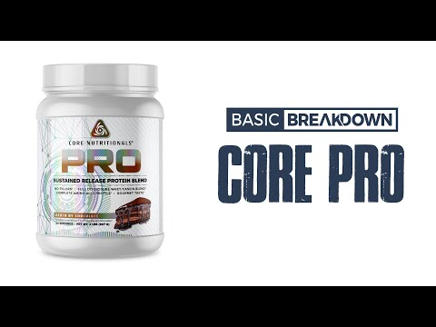 Core Nutritionals Core PRO 25 Protein Powder Supplement Review | Basic Breakdown