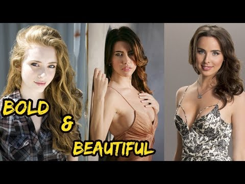 Top 6 Beautiful  Actress The Bold and the Beautiful American Tv   2018 Real Age  Height