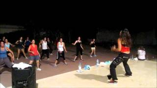 Zumba ® fitness class with Lauren- Getting Nasty