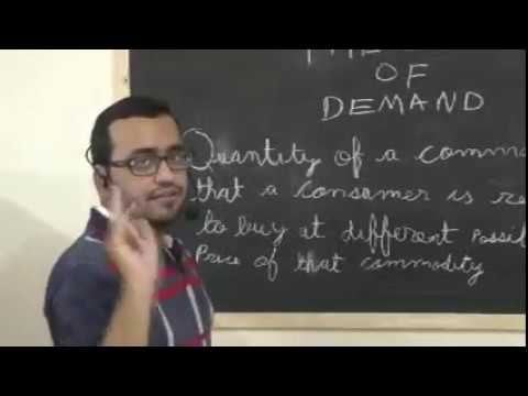 class 12 account theory of demand