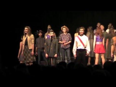 Sauk Prairie Show Choir 2016 Executive Session at Sauk Prairie Invitational