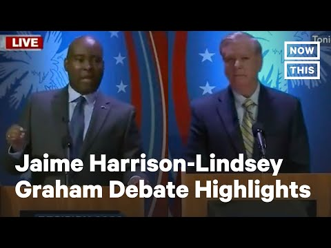 Highlights From the Jaime Harrison-Lindsey Graham Debate | NowThis