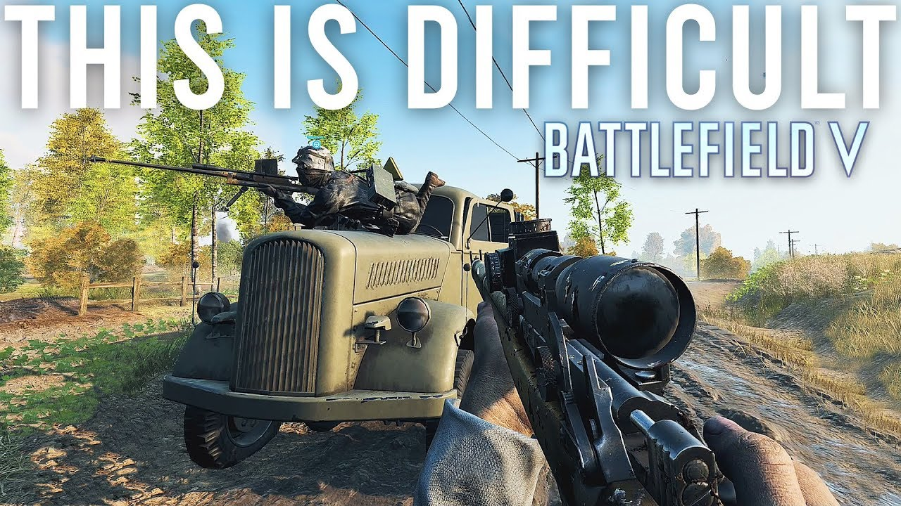 Das ist schwierig - Battlefield V + video